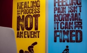 healing is a process not an event & feeling pain isn't normal it can be fixed signs