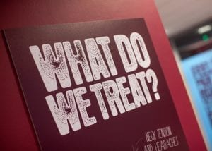what do we treat? sign
